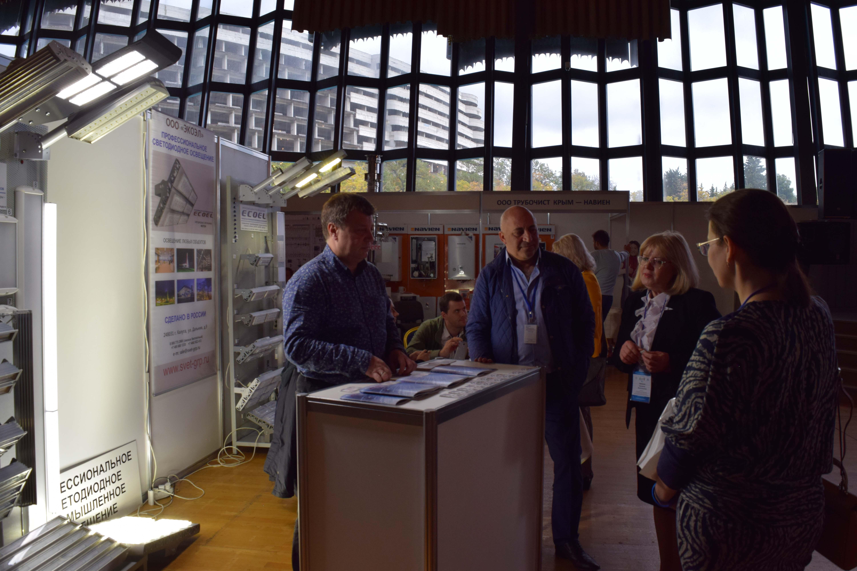 Фото с выставки «Крым. Стройиндустрия. Энергосбережение. Осень – 2017»