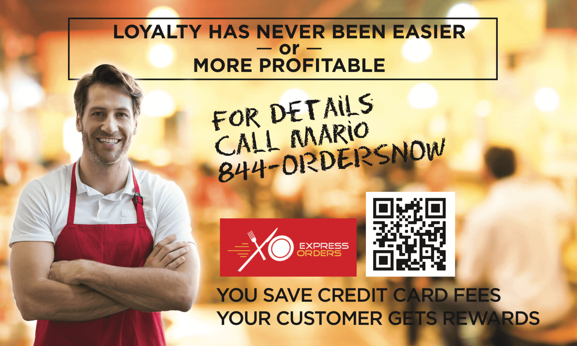 Restaurant Rewards Express Orders