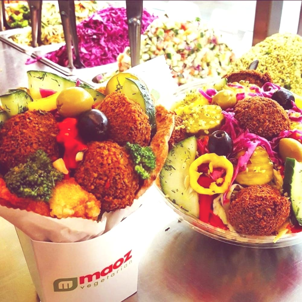 Maoz Vegetarian restaurants Boca Raton