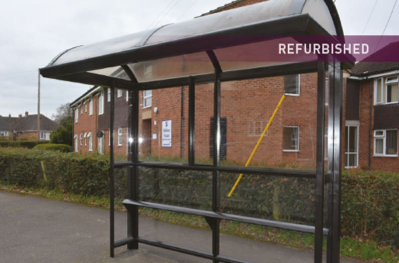 Bus Shelter Refurbishment - After 3