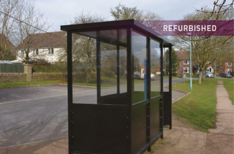 Bus Shelter Refurbishment - After 4
