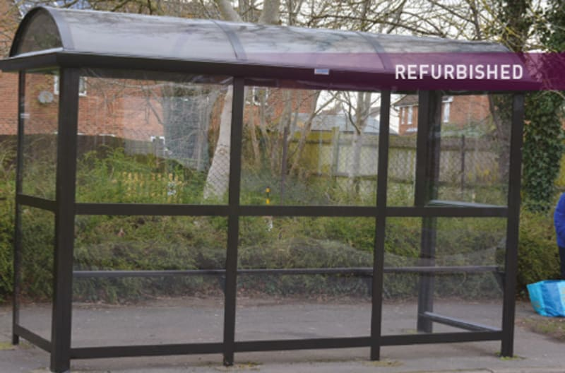 Bus Shelter Refurbishment - After 2
