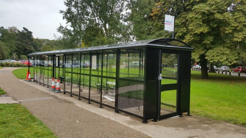 Large shelters ideal for social distancing