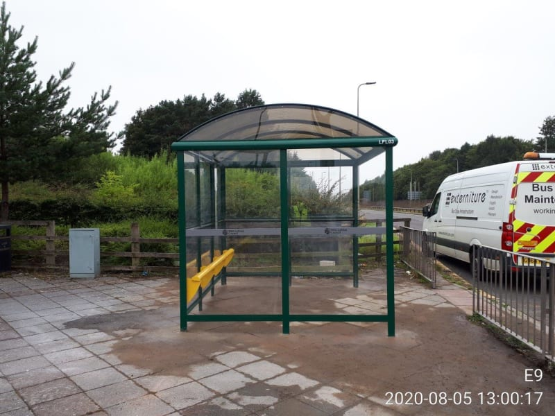 Double width large shelter