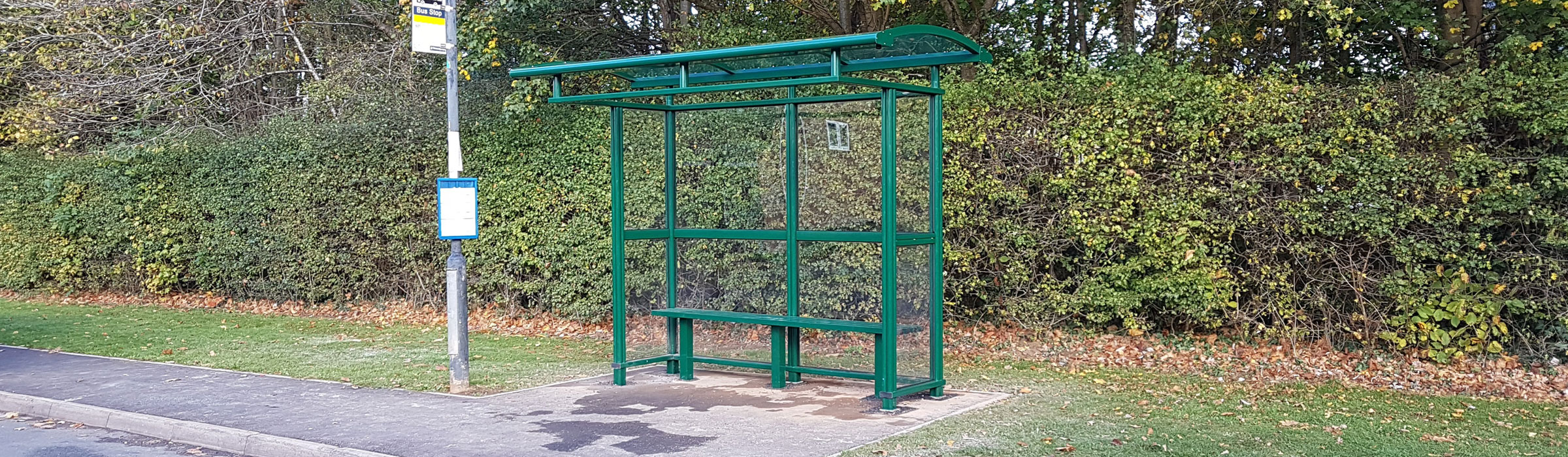 City Light Bus Shelters - Specifically produced for the UK market.