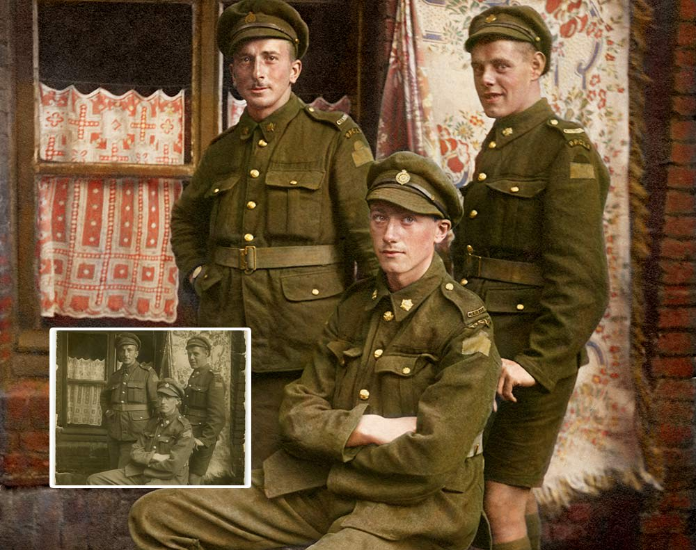 WWI Soldiers Colourization