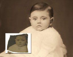 Broken Baby Photo