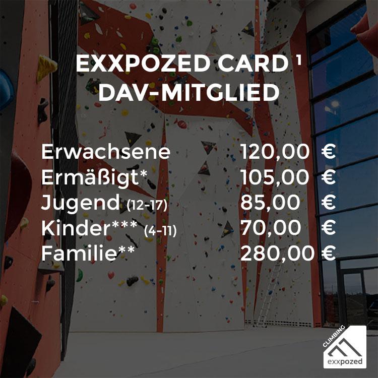 eXXpozed Card 11er Karte