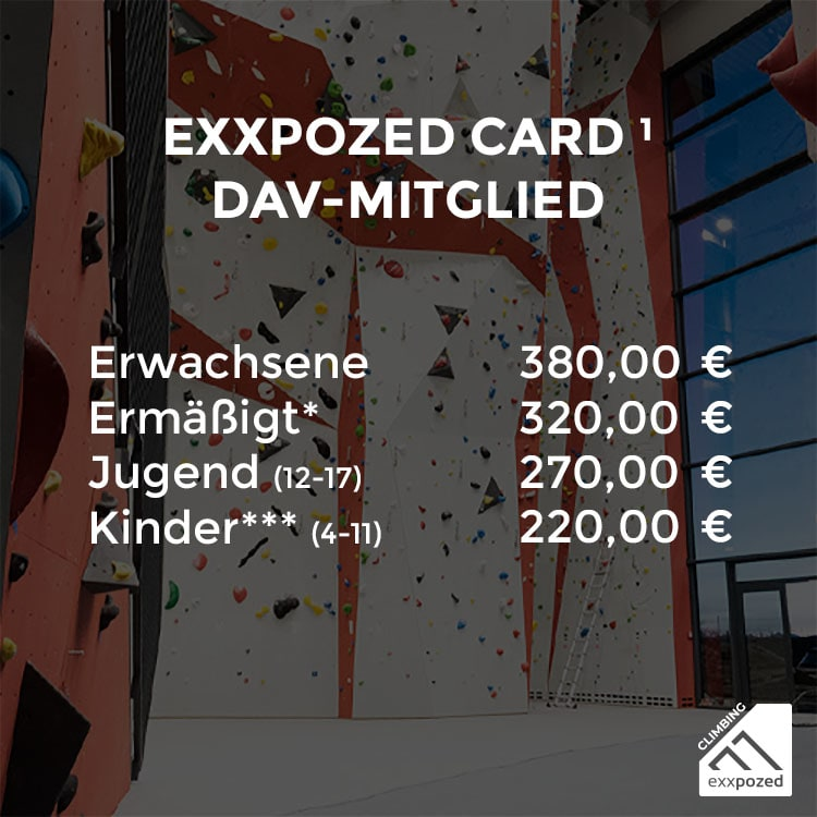 eXXpozed Card Halbjahreskarte