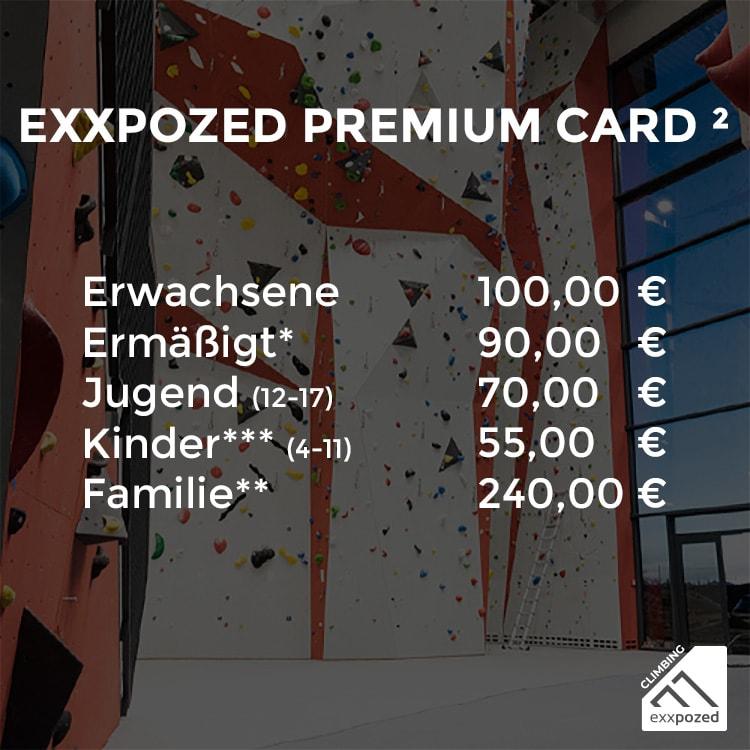 eXXpozed Premium Card 11er Karte