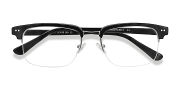 Black Kurma -  Acetate Eyeglasses