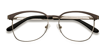 Gunmetal/Silver Dancer -  Fashion Metal Eyeglasses