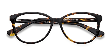 Tortoise Hepburn -  Fashion Acetate Eyeglasses