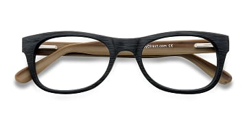 Black Little Panama -  Fashion Acetate Eyeglasses