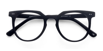Jet Black Atmosphere -  Designer Acetate Eyeglasses