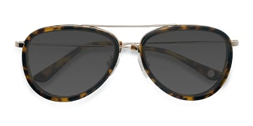 Tortoise Duke -  Vintage Acetate Sunglasses