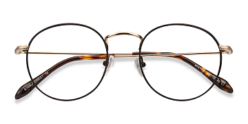Black Wistful -  Metal Eyeglasses