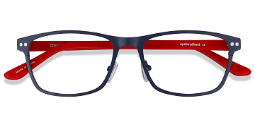 Navy Comity -  Acetate Eyeglasses