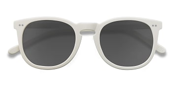 Cream Ethereal -  Vintage Acetate Sunglasses