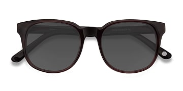Purple Brown Tempest -  Acetate Sunglasses