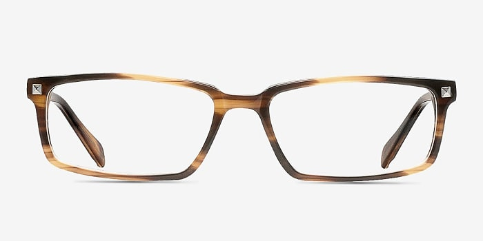 Brown Hugo -  Classic Acetate Eyeglasses