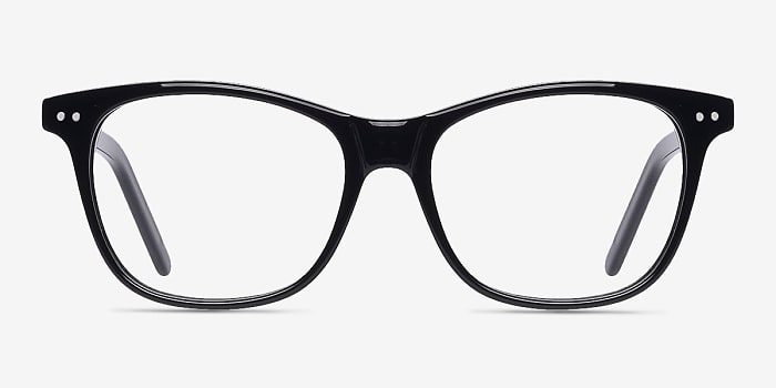Black Almost Famous -  Fashion Acetate Eyeglasses
