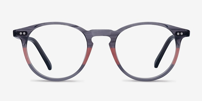 Gray Clear Kyoto -  Acetate Eyeglasses