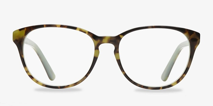 Green Tortoise Mars -  Fashion Acetate Eyeglasses