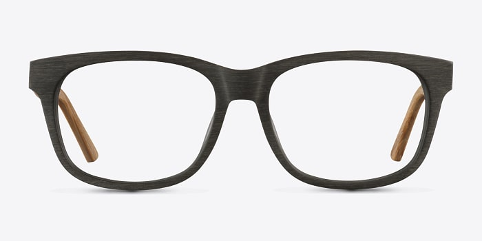 Olive White Pine -  Geek Wood Texture Eyeglasses