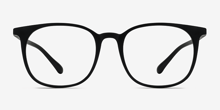 Matte Black Cheer -  Plastic Eyeglasses