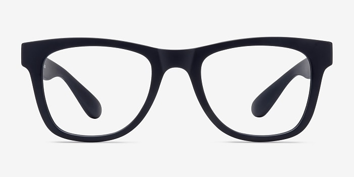 Matte Navy Project -  Plastic Eyeglasses