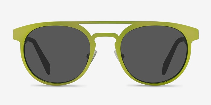 Green Playground -  Metal Sunglasses
