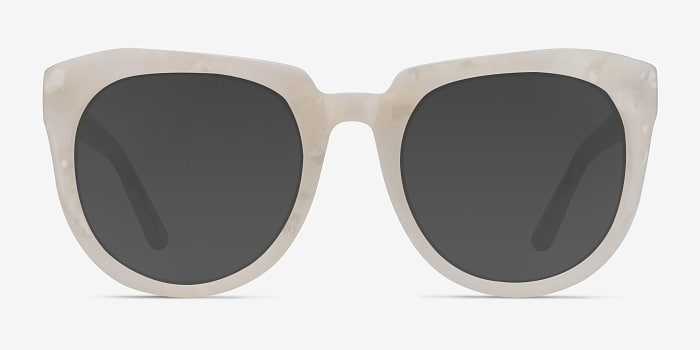 White Laohu -  Vintage Acetate Sunglasses
