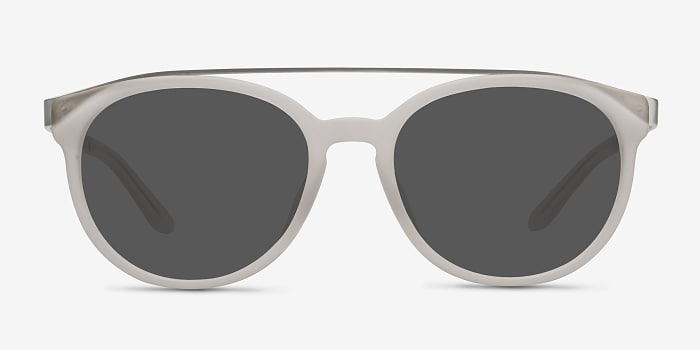 Matte White Morning Breeze -  Acetate Sunglasses