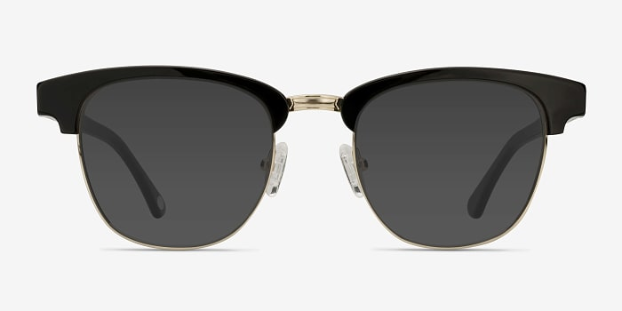 Black Somebody New -  Vintage Acetate Sunglasses