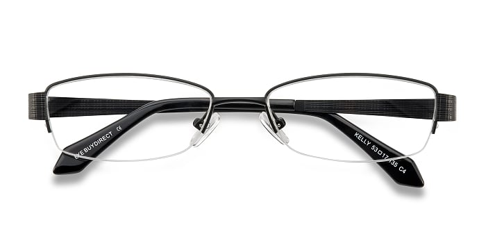 Black Kelly -  Metal Eyeglasses