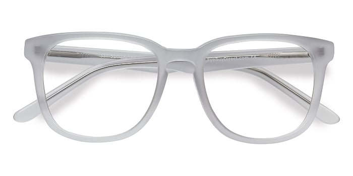 White Clear Sail -  Acetate Eyeglasses