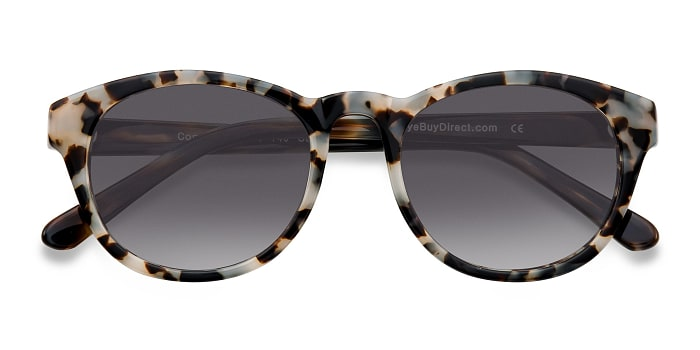 Gray/Brown Coppola -  Vintage Plastic Sunglasses