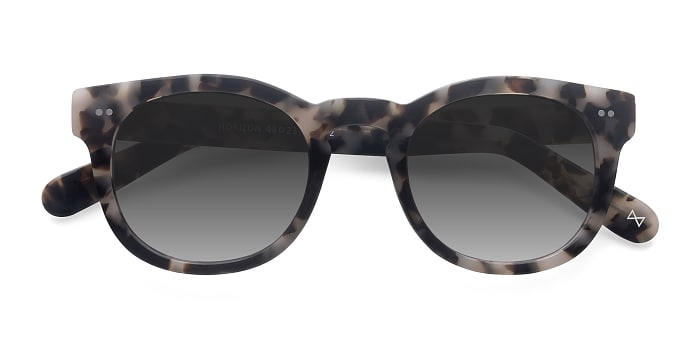 Marbled Tortoise Horizon -  Vintage Acetate Sunglasses