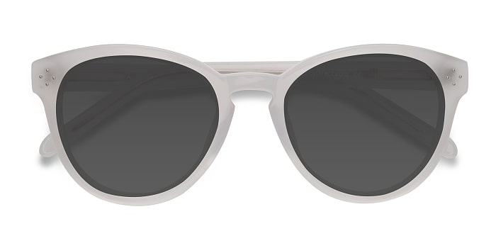 White Clear Augustine -  Vintage Acétate Solaires