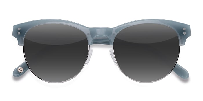 Light Blue College -  Vintage Acetate Sunglasses