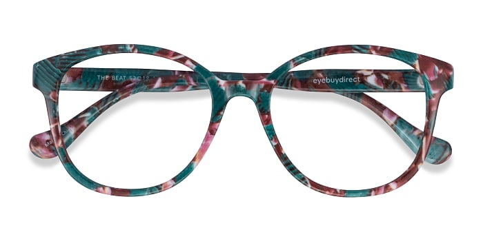 Floral The Beat -  Plastic Eyeglasses