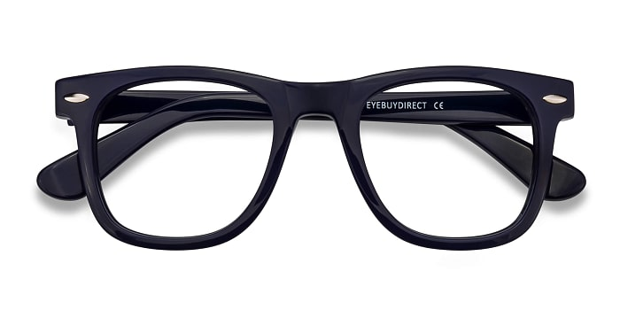 Navy Blizzard -  Acetate Eyeglasses