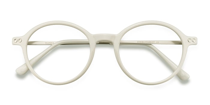 White Hijinks -  Metal Eyeglasses