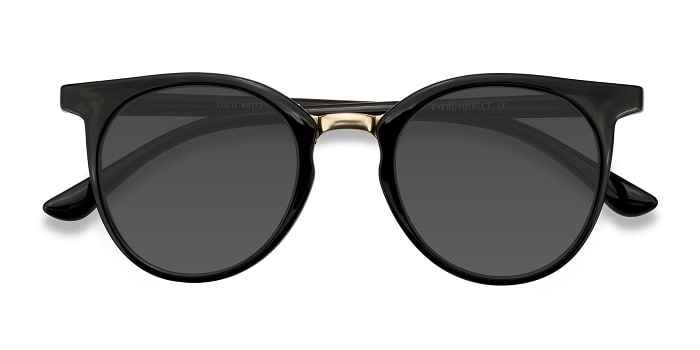 Black Lulu -  Metal Sunglasses