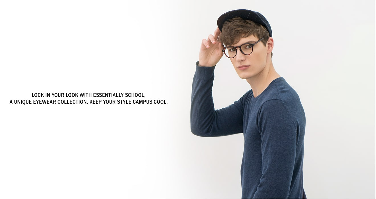 Lock in your look with Essentially Cool, a unique eyewear collection. Keep your style campus chic.