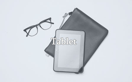Eyeglasses and kindle