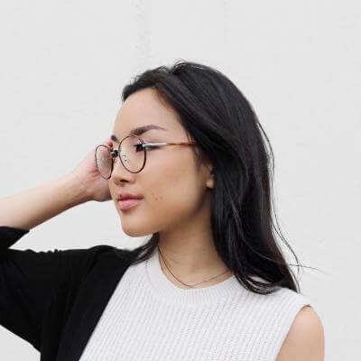 EyeBuyDirect Women eyeglasses anywhere tortoise