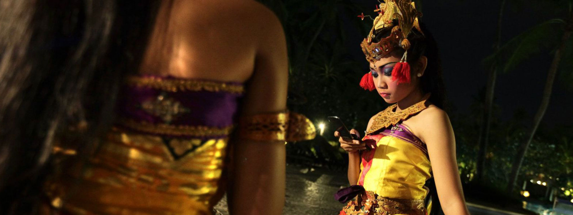 Indonesia dancers