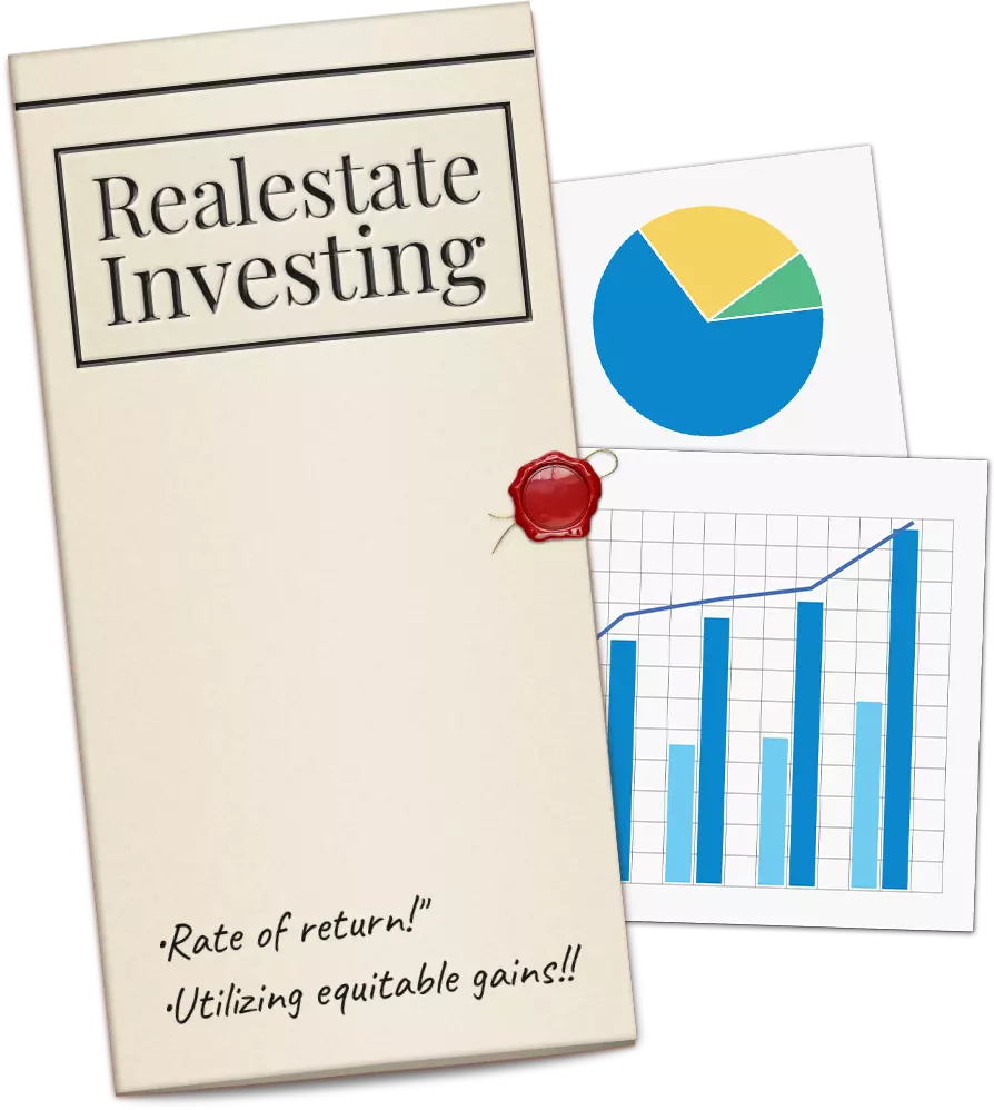 Realestate Investing. Rate of Return! Utilizing equitable gains!!